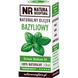 Natura Receptura Naturalny olejek eteryczny bazyliowy, 10 ml