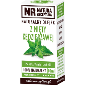 Natura Receptura Olejek z mięty kędzierzawej, 10 ml