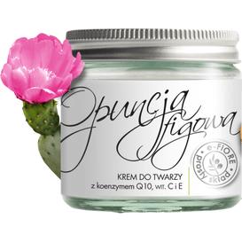 E-FIORE Krem przeciwzmarszczkowy z olejkiem z opuncji figowej, 60 ml