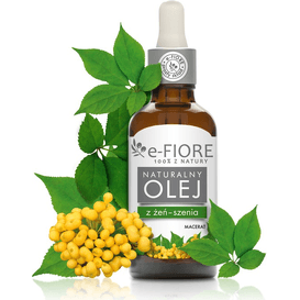 E-FIORE Naturalny macerat z żeń-szenia, 50 ml