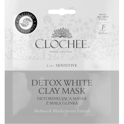 Detoksykująca maska z białą glinką Clochee