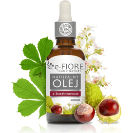 E-FIORE Naturalny olej z nasion kasztanowca, 50 ml