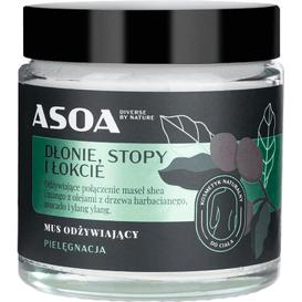 Asoa Masło odżywiające - dłonie, stopy i łokcie