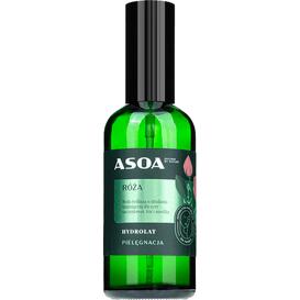 Asoa Hydrolat z róży damasceńskiej, 100 ml