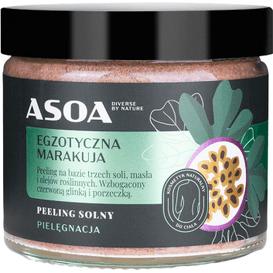 Asoa Peeling solny - Egzotyczna marakuja