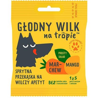 Żelki dla dzieci - Mango i Marchew Głodny Wilk