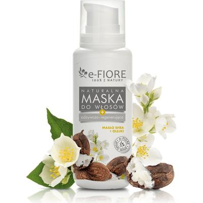 Naturalna maska do włosów 8 olejów E-FIORE