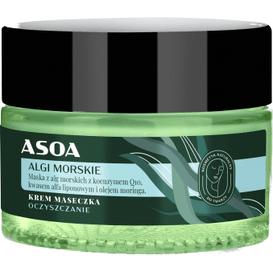 Asoa Krem-maseczka do twarzy - Algi Morskie, 60 ml