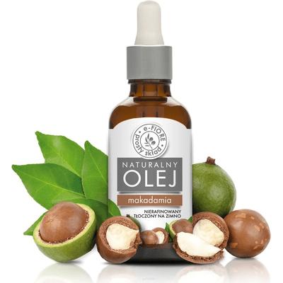 Olej macadamia nierafinowany E-FIORE