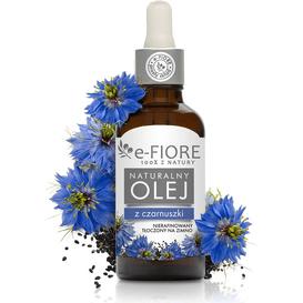 E-FIORE Naturalny olej z czarnuszki, 50 ml