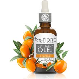 E-FIORE Olej z rokitnika nierafinowany, 50 ml