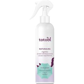 Totobi Naturalna mgiełka przeciwkleszczowa i przeciwpchelna dla zwierząt, 300 ml