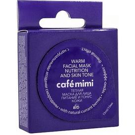 Cafe Mimi Maseczka do pielęgnacji twarzy - Rozgrzewająco-odżywiająca, 15 ml