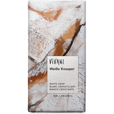 Czekolada biała z chrupiącym ryżem Vivani