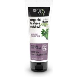 Organic Shop Zmiękczający krem do stóp - Barbados, 75 ml