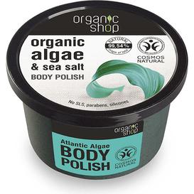 Organic Shop Oczyszczająca pasta do ciała - Atlantyckie algi