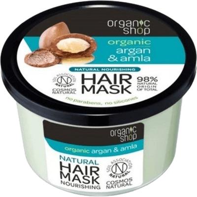 Odżywcza maska do włosów - Siła i blask Organic Shop