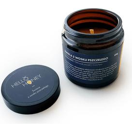 Lullalove Świeca z wosku pszczelego, 100 g