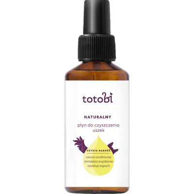 Naturalny płyn do czyszczenia uszek Totobi