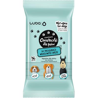 Chusteczki dla psów do pielęgnacji wrażliwych miejsc Totobi