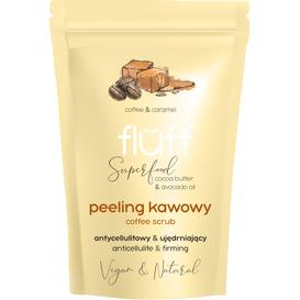 Fluff Suchy peeling kawowy - Kawa i karmel, 100 g