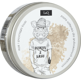 LAQ Myjący peeling cukrowy - Dzikus z Lasu, 200 ml