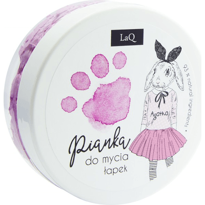 Pianka do mycia rączek - Różowa LAQ