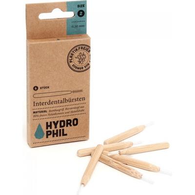 Szczoteczki do czyszczenia przestrzeni międzyzębowych - rozmiar 2 Hydrophil