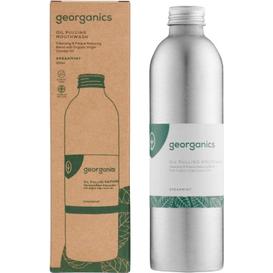 Georganics Naturalny olejek do płukania jamy ustnej - Zielona mięta 250 ml