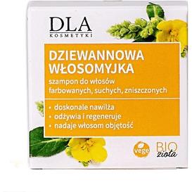 Kosmetyki DLA Szampon w kostce do włosów farbowanych - Dziewannowa włosomyjka, 35 g