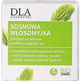 Kosmetyki DLA Szampon w kostce do włosów przetłuszczających się - Sosnowa włosomyjka, 35 g