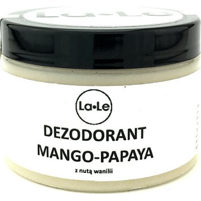 Dezodorant ekologiczny w kremie - Mango-papaya z nutą wanili La-Le Kosmetyki