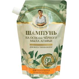Receptury Agafii Szampon do wszystkich włosów na bazie czarnego mydła, 500 ml