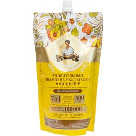 Receptury Agafii Odżywczy szampon do włosów - Jajeczny, 500 ml