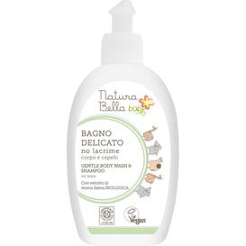 Natura Bella Baby Delikatny płyn do kąpieli i szampon - No tears, 300 ml