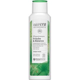 Lavera Szampon do włosów przetłuszczających się - bio-matcha i quinoa, 250 ml