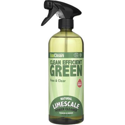 Bezzapachowy płyn do czyszczenia łazienki i odkamieniacz w sprayu Eco Clean
