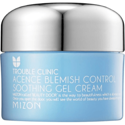 Acence Blemish Control Soothing Gel Cream - Lekki krem-żel do skóry problematycznej Mizon