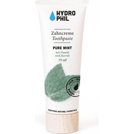 Hydrophil Pasta do zębów z fluorem - Mięta pieprzowa, 75 ml