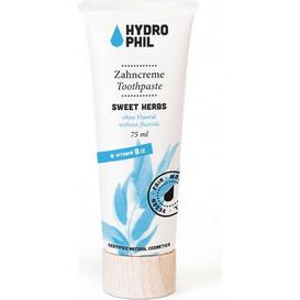 Hydrophil Pasta do zębów bez fluoru - Słodkie zioła, 75 ml