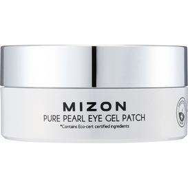 Mizon Pure Pearl Eye Gel Patch - Hydrożelowe płatki pod oczy z diamentowym pudrem