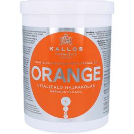 Kallos Orange - Maska do włosów z olejem pomarańczowym, 1 L