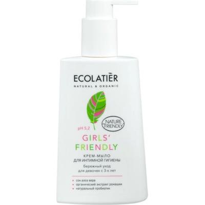 Krem-mydło do higieny intymnej dla dziewczynek EO Laboratorie