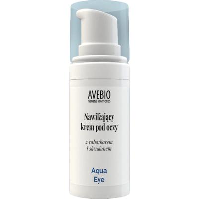 Nawilżający krem pod oczy z rabarbarem i skwalanem - Aqua Eye Avebio