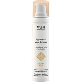 Avebio Wygładzające serum do twarzy z jaśminem, różą i stokrotką - Smooth Base, 50 ml