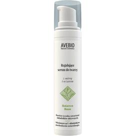Avebio Regulujące serum do twarzy z mirrą i oczarem - Balance Base, 50 ml