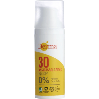 Krem do opalania twarzy SPF 30 Derma SUN