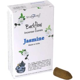 Kringle Candle Kadzidełko stożkowe Backflow - Jaśmin - 1szt.