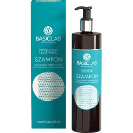 BasicLab Szampon do włosów farbowanych, 300 ml