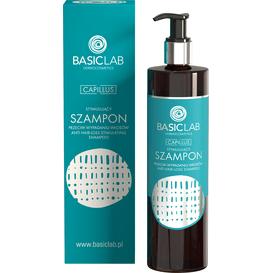 BasicLab Stymulujący szampon przeciw wypadaniu włosów, 300 ml